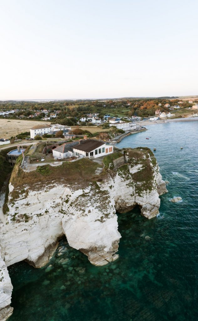 Cliffs over Freshwater Bay