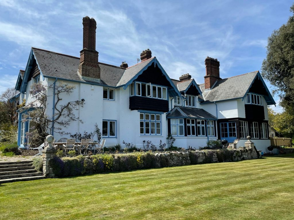 Isle of Wight Film Location Exterior Victorian Grange Water Coastal Views