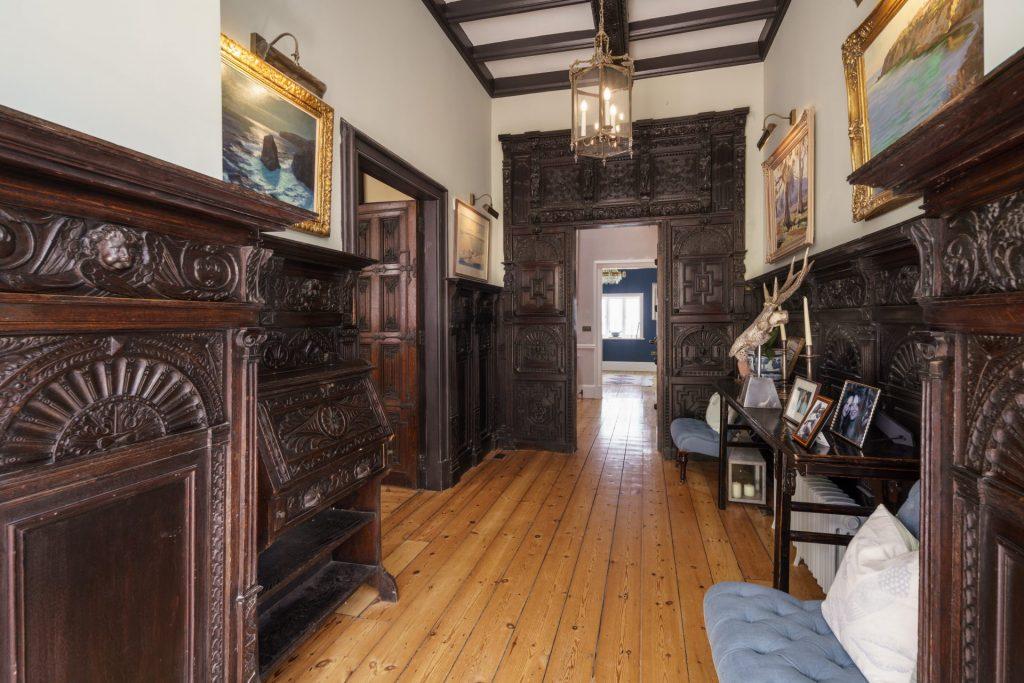 Hallway, Wooden Floors, Panelling