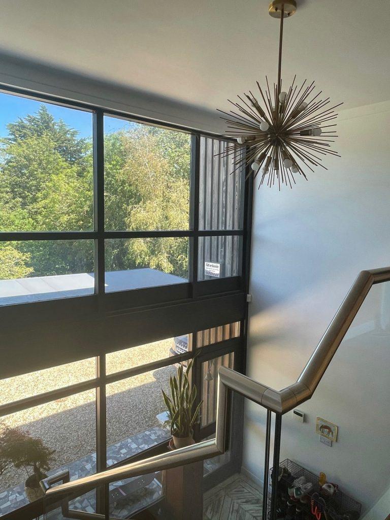 Hall, Crittal Windows, Mezzanine