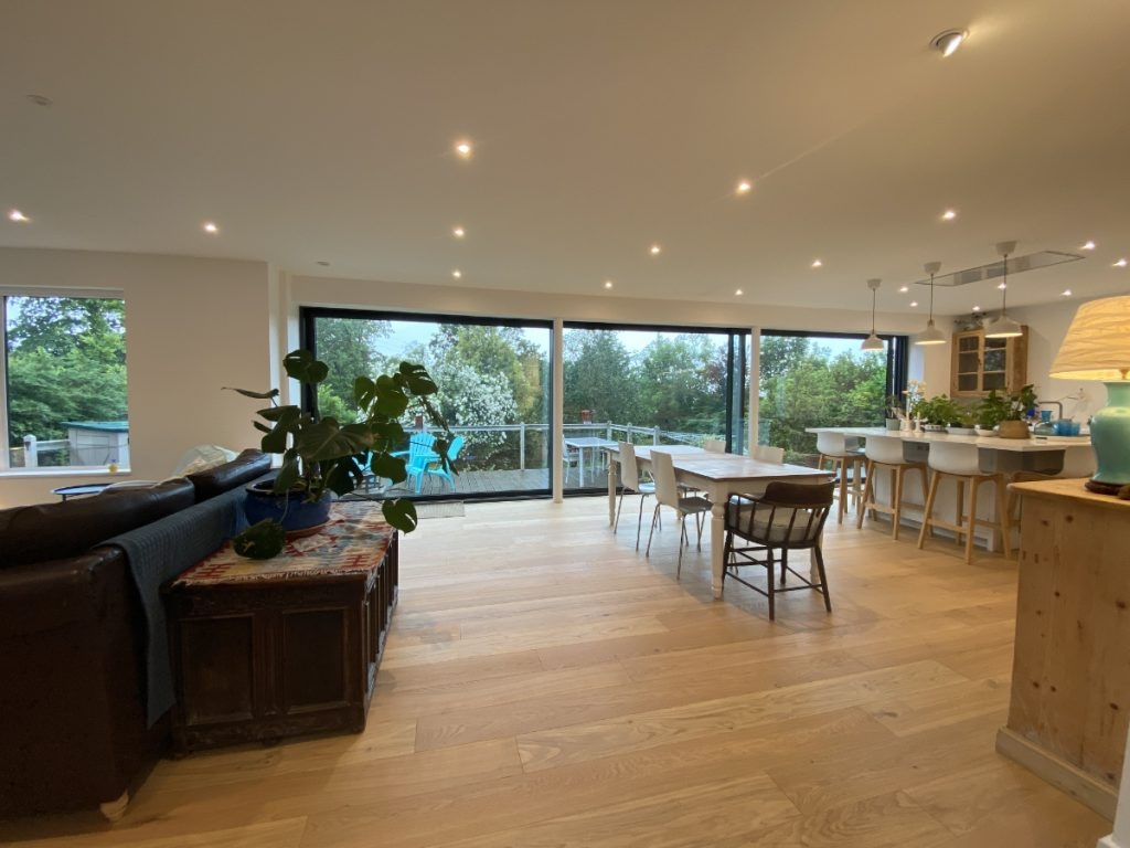 Living Room Kitchen Diner Open Plan