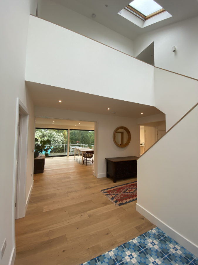 Stairs Open Plan