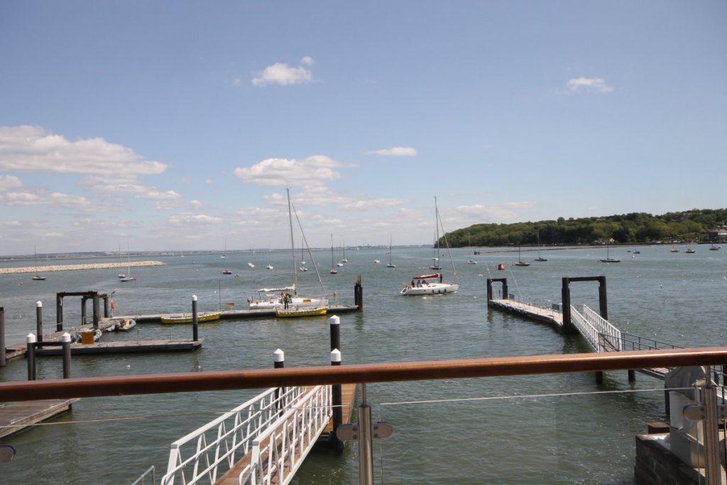 Deck, Jetty & Solent View