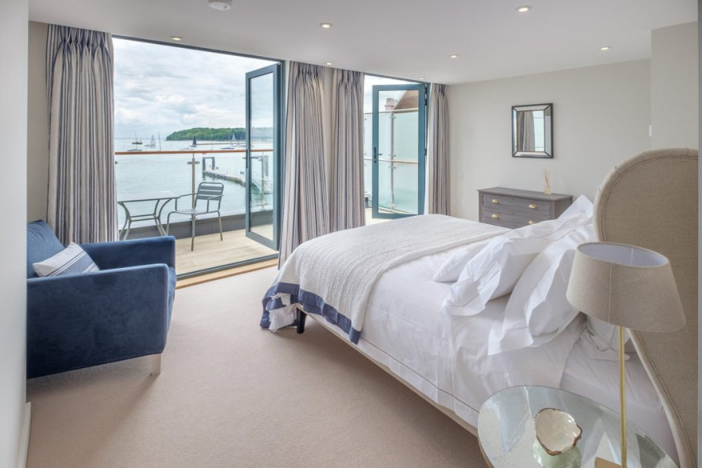 Double Bedroom with Sea Views & Balcony