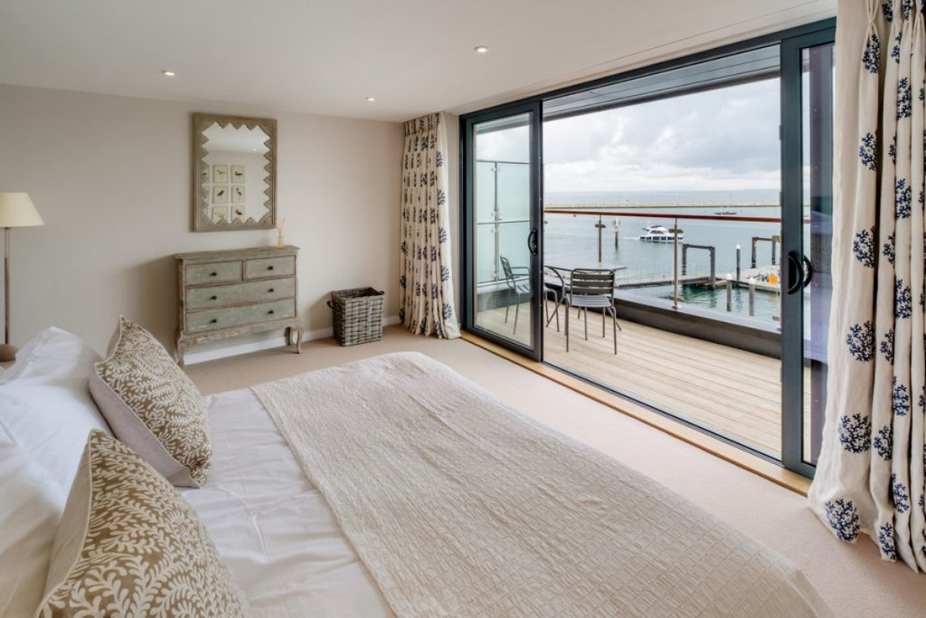 Master Bedroom with Sea Views & Balcony