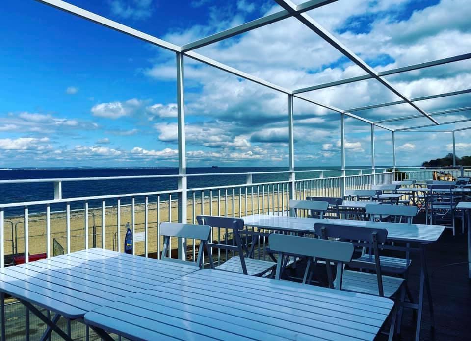 Outdoor Dining Beach Sandy